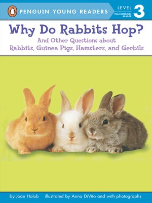 cover image of Why Do Rabbits Hop?