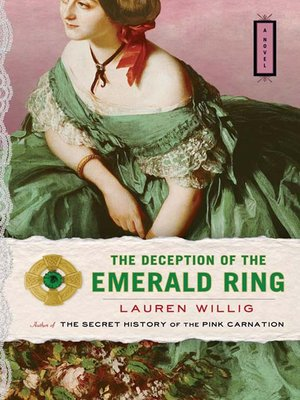 cover image of The Deception of the Emerald Ring