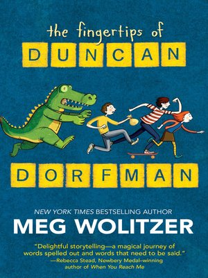 cover image of The Fingertips of Duncan Dorfman