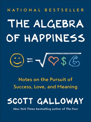 cover image of The Algebra of Happiness