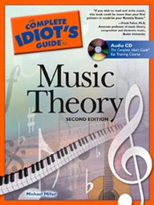 cover image of The Complete Idiot's Guide to Music Theory
