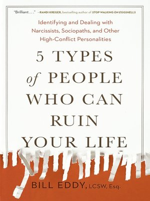 cover image of 5 Types of People Who Can Ruin Your Life