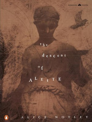cover image of The Descent of Alette