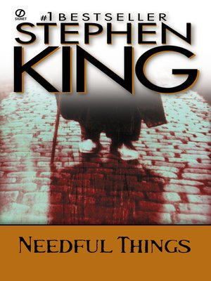 cover image of Needful Things