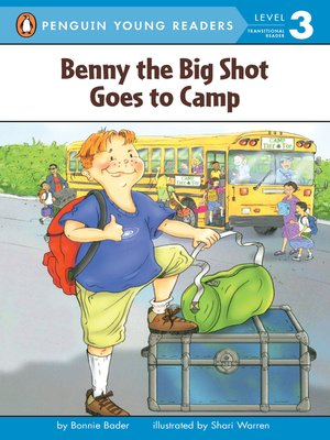 cover image of Benny the Big Shot Goes to Camp