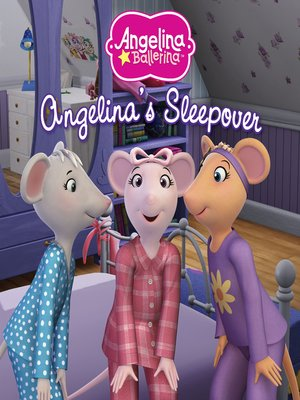cover image of Angelina's Sleepover