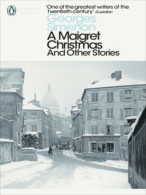 cover image of A Maigret Christmas