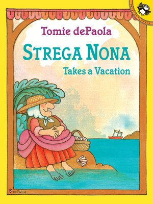 cover image of Strega Nona Takes a Vacation