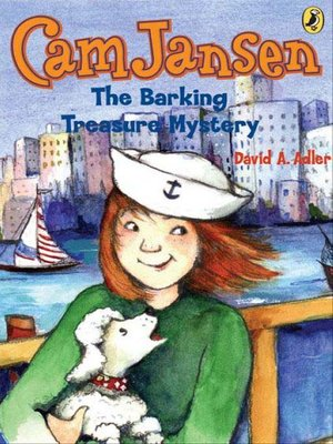 cover image of Cam Jansen and the Barking Treasure Mystery