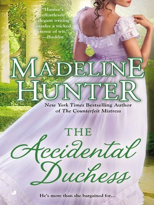 cover image of The Accidental Duchess