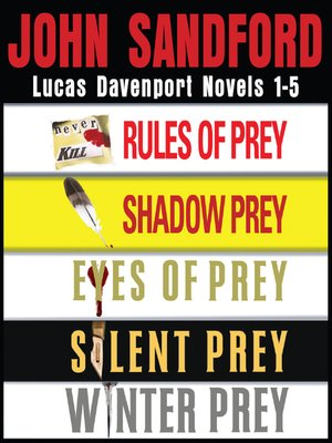 cover image of Lucas Davenport Collection: Rules of Prey ; Shadow Prey ; Eyes of Prey ; Silent Prey ; Winter Prey