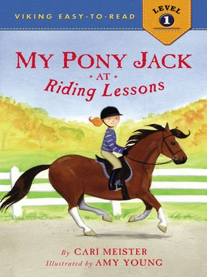cover image of My Pony Jack at Riding Lessons