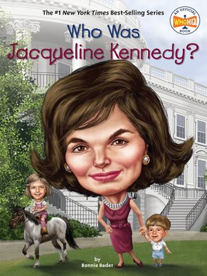 cover image of Who Was Jacqueline Kennedy?