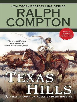 cover image of Ralph Compton Texas Hills
