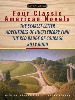 cover image of Four Classic American Novels