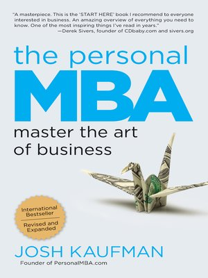 cover image of The Personal MBA