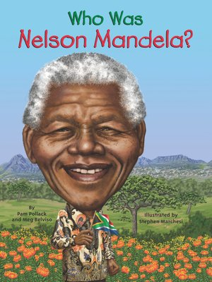 cover image of Who Was Nelson Mandela?