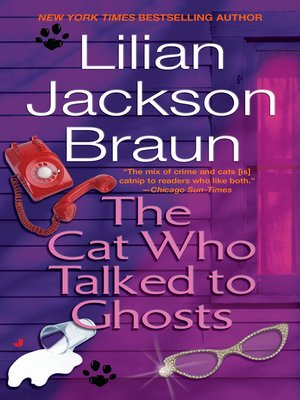 cover image of The Cat Who Talked to Ghosts