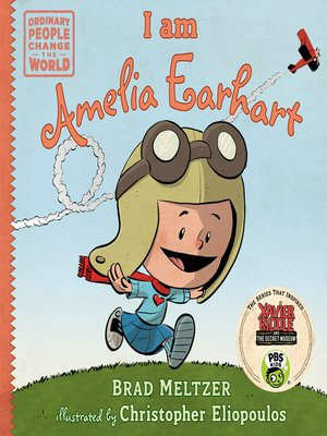 cover image of I am Amelia Earhart