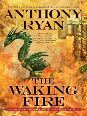 cover image of The Waking Fire