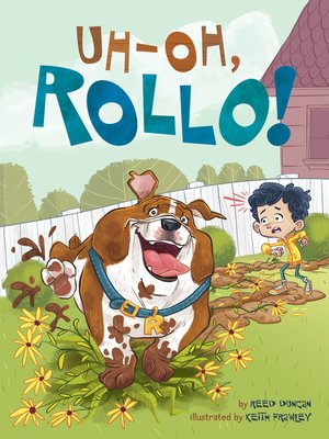 cover image of Uh-Oh, Rollo!