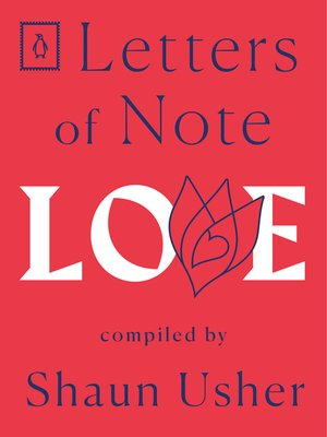 cover image of Letters of Note--Love