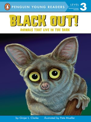 cover image of Black Out!--Animals That Live in the Dark