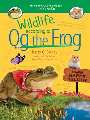 cover image of Wildlife According to Og the Frog