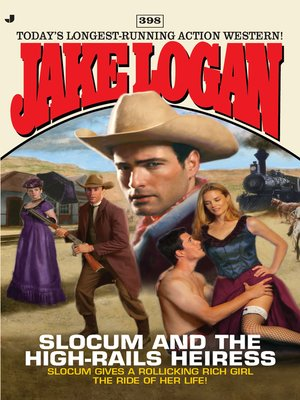 cover image of Slocum and the High-Rails Heiress