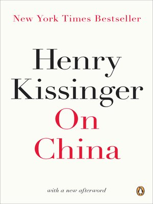 On China By Henry Kissinger Pdf