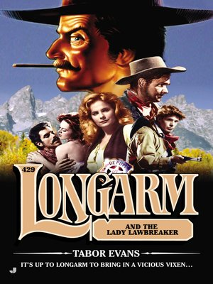 cover image of Longarm #429--Longarm and the Lady Lawbreaker