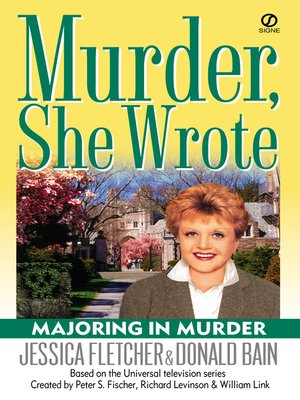 cover image of Majoring In Murder