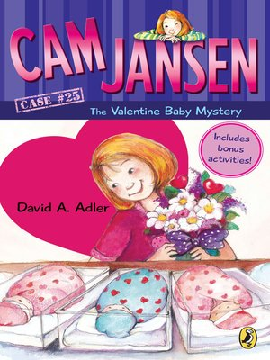 cover image of Cam Jansen and the Valentine Baby Mystery