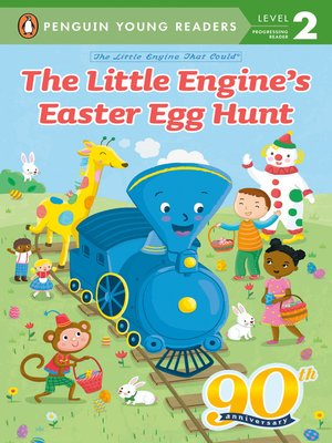cover image of The Little Engine's Easter Egg Hunt