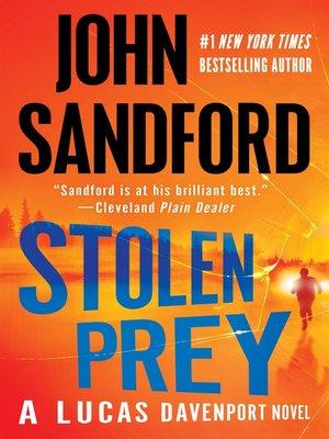 Cover image for Stolen Prey