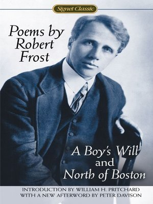 cover image of Poems by Robert Frost