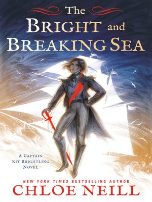cover image of The Bright and Breaking Sea