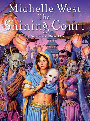 cover image of The Shining Court