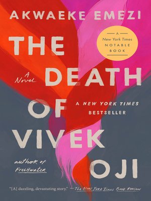 cover image of The Death of Vivek Oji