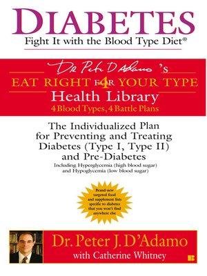 Catherine whitney overdrive rakuten overdrive ebooks cover image of diabetes fandeluxe Images