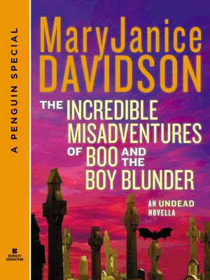 cover image of The Incredible Misadventures of Boo and the Boy Blunder