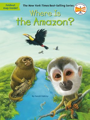 cover image of Where Is the Amazon?