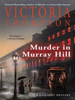 cover image of Murder in Murray Hill