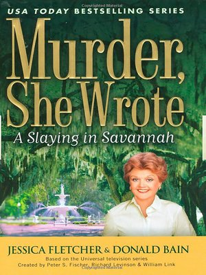 cover image of A Slaying in Savannah
