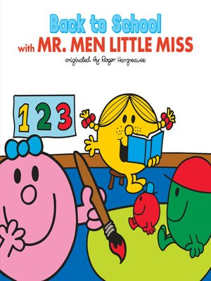 cover image of Back to School with Mr. Men Little Miss