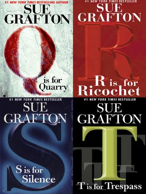 cover image of Sue Grafton Novel Collection