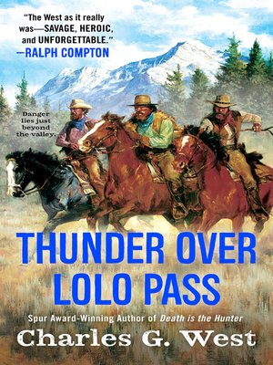 cover image of Thunder Over Lolo Pass