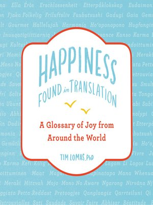 cover image of Happiness—Found in Translation