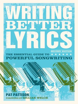 cover image of Writing Better Lyrics