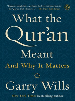 cover image of What the Qur'an Meant